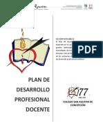 Plan de Desarrollo Profesional Docente