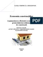 Economia Constructiilor Ind Metod Proiect Licenta DS