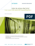 Cyber Risk in Asia-Pacific the Case for Greater Transparency