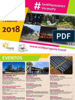 Eventos para el verano 2017-2018
