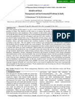 Hospital Waste Management and Environmental Problems in India