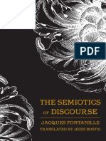Jacques Fontanille-The Semiotics of Discourse
