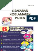 Pp 6 Sasaran Keselamatan Pasien Fix 2