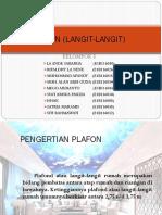 PLAFON (LANGIT-LANGIT)