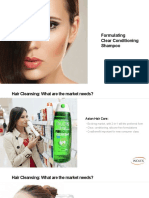 1 Formulating Clear Conditioning Shampoos Judy Zhuang Inolex