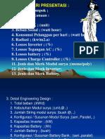 4.Materi Presentasi Perencanaan PLTS.ppt
