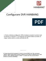 Configurare DVR Hanbang