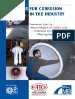 Sheet Lining HITECH APPLICATOR & MB Plastics Holland
