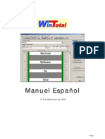Wintotal Spanish Manual 4-4-00