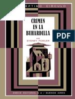 068 Crimen en La Buhardilla - Sidney Fowler