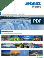 Energia Hidrelétrica Hy Andritz Hydro Pt Importante