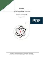 Tutorial Centrifugal Pump System