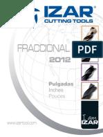 Catalogo Izar Fraccional 2012