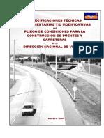 Especif Técnicas Modif Y-o Comp Del PV_agosto 2003