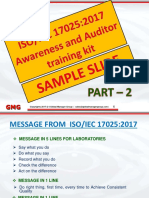 ISO/IEC 17025:2017 Awareness and Auditor Training
