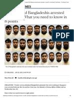 27 Radicalised Bangaldesh In Singapore