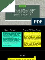 Aziz Bin Muhamad Din v Public Prosecutor
