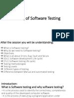 Basics of Software Testing