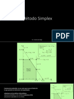 4.1 Método Simplex