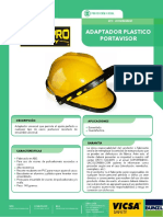 5. Adaptador Plastico Porta Visor Adaptador Esmerilar