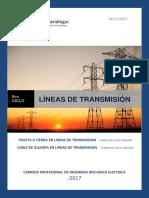 Puesta a Tierra - Cable de Guarda Para Red 500kv (Lineas de Transmision)