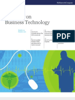 Mckinsey Business Technology