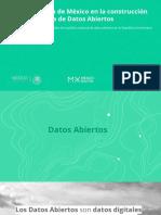 Presentación DatosAbiertos México
