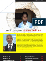 tamil diaspora newsletter - august 2010
