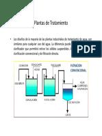 1.3 Coagulación Floculación