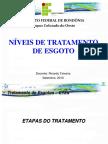 10 - Esgostos Niveis de Tratamento