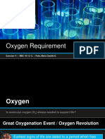 Oxygen Requirement of Bacteria