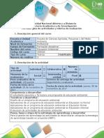 Guía de Actividades - Paso 5 - Evaluación
