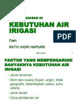 Pokok Bahasan III Kebutuhan Air.pptx