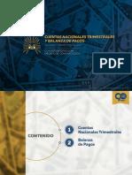 Ppt Cuentas Trimestrales Balanza Pagos