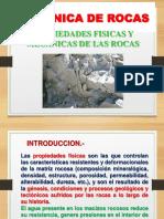 Propiedades Fisicas y Mec. de Rocas