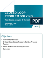 8 Step Closed Loop Problem Solving