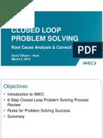 8 Step Closed Loop Problem Solving