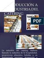 Introduccion a La Industria Del Catering