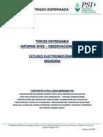 memoria calculo electromecanico