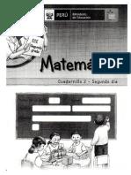 2do Prim Matematica Cuadernillo2
