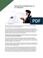Imam Khomeini Dalam Penuturan Hujjatul Islam Wal Muslimin Ali Akbar Ashtiyani 4
