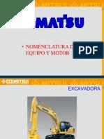 Nomenclatura Komatsu - Macrosup