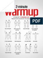 2 Minute Warmup Workout
