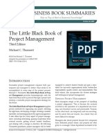 Little Black Book Of Project Management Pdf