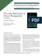 Little Black Book Of Project Management Pdf
