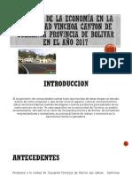 Análisis de La Economía en La Comunidad Vinchoa