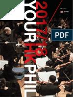 HK Phil 1718 Subscription Brochure