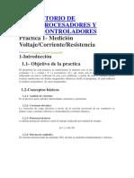 Laboratorio de Microprocesadores y Microcontroladores