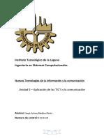 Aplicación de las TIC's y la comunicación