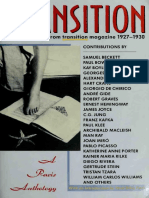 In Transition a Paris Anthology